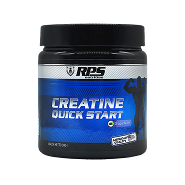 Креатин Quick Start RPS Nutrition вкус Виноград, Creatine Quick Start RPS Nutrition Grape Flavor, банка 300г