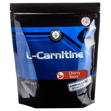L-карнитин RPS Nutrition вкус Вишня, L-Carnitine RPS Nutrition Cherry Flavor, пакет 500г