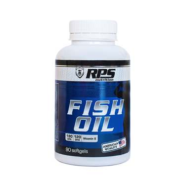 Рыбий жир RPS Nutrition, Fish Oil RPS Nutrition, капсулы 90 шт.