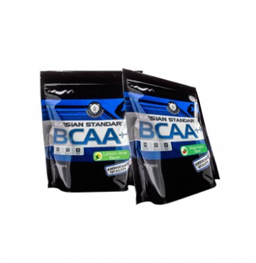 Набор BCAA (8:1:1) RPS Nutrition, вкусы Арбуз+Лимон Лайм, BCAA (8:1:1) RPS Nutrition Stack with Water-melon and Lemon-Lime Flavors, 2 пакета дой-пак по 500г