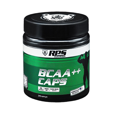 BCAA (2:1:1) RPS Nutrition вкус Нейтральный, BCAA (2:1:1) RPS Nutrition Unflavored, капсулы 240 шт